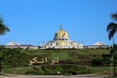 Malásia - 17 de julho: palácio do negara do istana em malaysia o 17 de julho Fotos de Stock