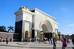 Malásia - 17 de julho: palácio do negara do istana em malaysia o 17 de julho Imagem de Stock Royalty Free