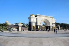 Malásia - 17 de julho: palácio do negara do istana em malaysia o 17 de julho Fotografia de Stock