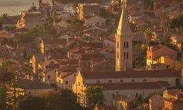 Malí Losinj, Croatia Imagenes de archivo
