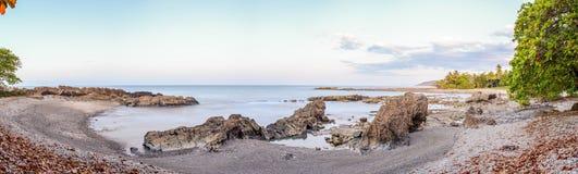 Mal佩斯海滩在晚上 库存图片