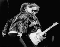 滚石乐队-米克・贾格尔和基思理查兹1994年莎莉文体育场福克斯伯罗, Ma埃里克L 约翰逊 库存照片