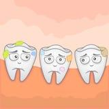 Mal de dents Images libres de droits