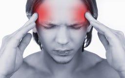 Mal de tête Images stock