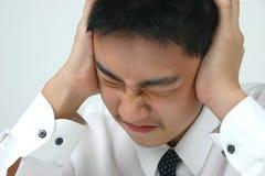 Mal de tête Image libre de droits