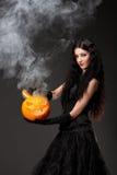 Mal mas bruxa 'sexy' Fotos de Stock Royalty Free