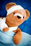 Mal oso de peluche Fotos de archivo libres de regalías