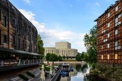Mala ön i Bydgoszcz, Polen Royaltyfri Fotografi