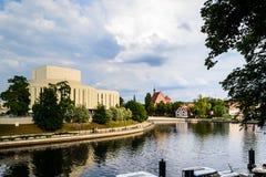 Mala ön i Bydgoszcz, Polen Royaltyfria Foton