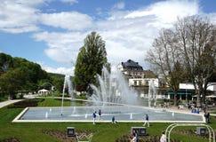Mala ciudad Rosengarten del balneario de Kissingen Fotografía de archivo libre de regalías