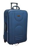 A mala de viagem azul fotografia de stock royalty free