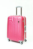 Mala de viagem cor-de-rosa Foto de Stock Royalty Free