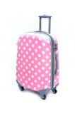 Mala de viagem cor-de-rosa Fotografia de Stock Royalty Free