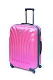 Mala de viagem cor-de-rosa Fotos de Stock Royalty Free
