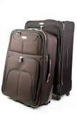 Mala de viagem da bagagem nas rodas Imagem de Stock Royalty Free