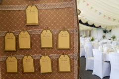 Mala de viagem do casamento do vintage Fotos de Stock Royalty Free
