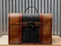 Mala de viagem do vintage Foto de Stock