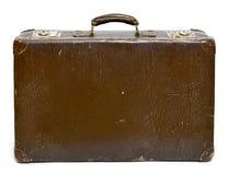 Mala de viagem do vintage, bagagem retro ou bagagem foto de stock
