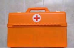 A mala de viagem dos doutores foto de stock