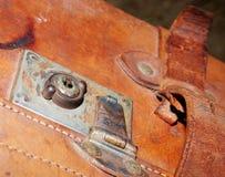 Mala de viagem velha Imagens de Stock Royalty Free