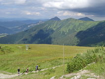 Mala Fatra山,斯洛伐克,欧洲 免版税库存图片