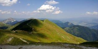 Mala Fatra - Словакия стоковое изображение rf