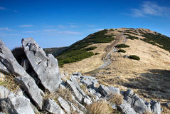 Mala Fatra Berge, Slowakei, Herbst Lizenzfreies Stockfoto