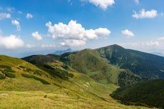 Mala Fatra mountains at Slovakia. Mala Fatra is a mountain range in northern Slovakia in the Zilina Region. After High Tatras, Low Tatras and Orava Beskydy is stock photos