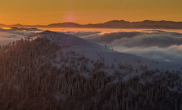 Mala Fatra Mountains Photographie stock