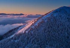 Mala Fatra Mountains Immagine Stock Libera da Diritti