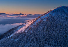 Mala Fatra Mountains Imagem de Stock Royalty Free