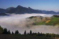 Mala Fatra Mountains Fotografia Stock