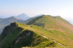 Mala Fatra mountains range Stock Photos