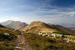 Mala Fatra mountains, Slovakia royalty free stock images