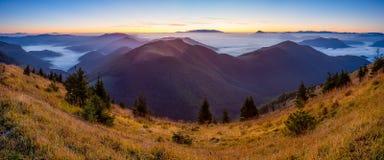 Mala Fatra, Slovacchia fotografia stock libera da diritti