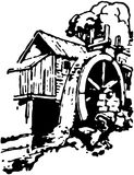 mala gammalt stock illustrationer
