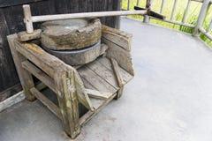 mala gammalt trä Royaltyfri Foto