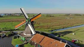 Mala i nederländsk zoom för flyg- sikt ut arkivfilmer