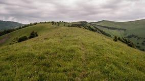 Mala Krizna wzgórze w Velka Fatra fotografia stock