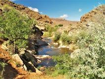 Mala liten vik nära Moab, Utah Royaltyfria Foton