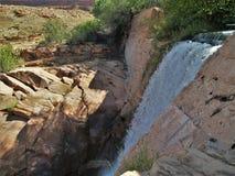 Mala liten viknedgångar nära Moab, Utah Fotografering för Bildbyråer