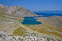 Mala Luka dreamscapes, Island of Krk Stock Images