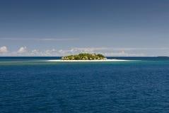 Остров Mala Mala, Фиджии, Южная часть Тихого океана. Стоковое Изображение