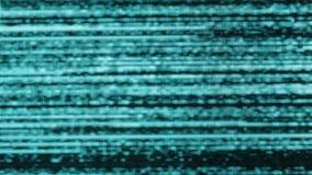 Mala señal débil de la obra clásica TV, ruido de fondo del centelleo