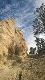 Mala sombra de la montaña de banff del valle del arco Imagen de archivo libre de regalías