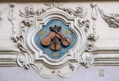 Mala Strana,布拉格,捷克共和国 免版税图库摄影
