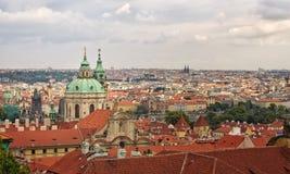 Mala Strana, Praga, repubblica Ceca. Immagini Stock Libere da Diritti