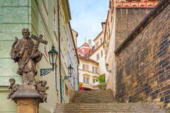 Mala Strana in Prague, Czech Republic Royalty Free Stock Photography