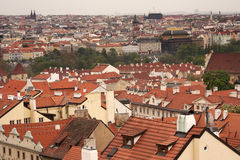 Mala strana roofs Royalty Free Stock Photography