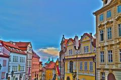 Mala Strana streets Royalty Free Stock Photos